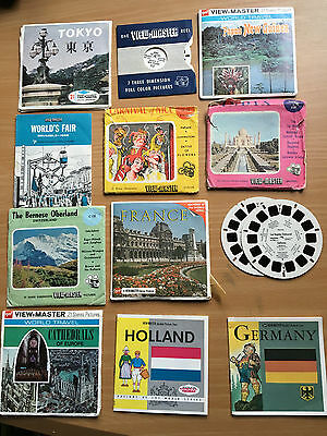 VIEW MASTER SLIDES. World Cities.