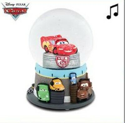 Cars Disney Musical Water Globe / Water Ball / Snow Dome 100 mm