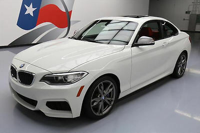 2015 BMW 2-Series  2015 BMW M235I PREMIUM TECH PKG RED HTD LEATHER NAV 23K #358416 Texas Direct