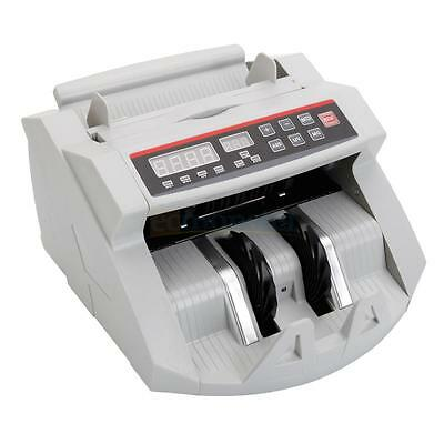 Money Bill Counter Cash Bank Machine Counting Currency Check UV & MG Counterfeit