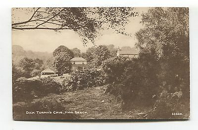 Epping Forest - Turpin's Cave, High Beech - old Essex postcard