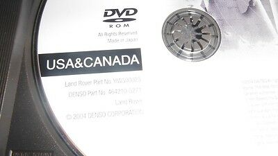 Land Rover Range Rover Navigation System DVD Plus Interactive Guide CD ROM