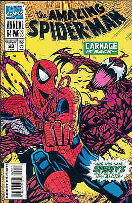 Amazing Spiderman Annual # 28 (vs. Carnage) (USA)