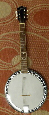 OZARK...  6 STRING  GUITAR BANJO  with GIG BAG...   approx 14 years old