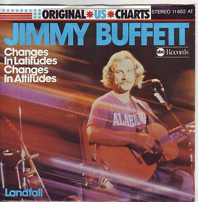 """7"" - JIMMY BUFFETT - Changes in Latifudes changes in.."