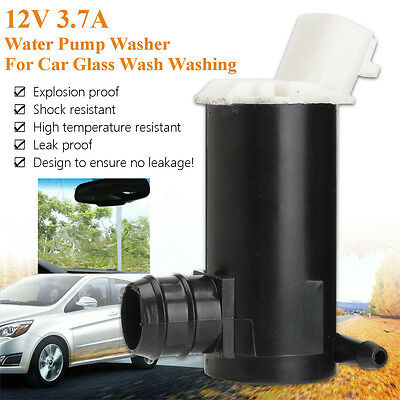 DC 12V 3.7A High Pressure Black Water Pump Washer for Car Glass Wash Washing