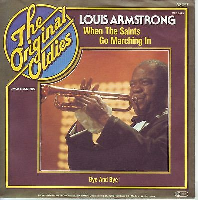 """7"" - LOUIS ARMSTRONG - When the saints go marching in"