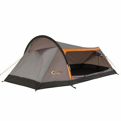 Portal Apus 2 - 2 person tunnel tent, Trekking Touring tent with big entrance, 1