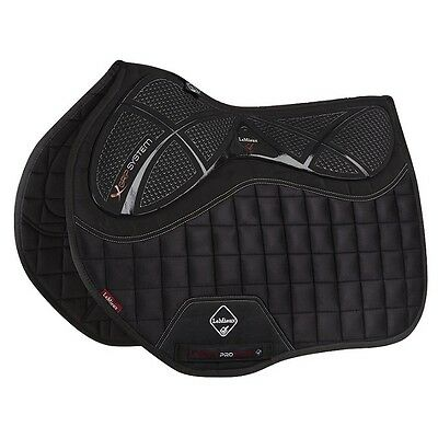 LEMIEUX X-GRIP EURO JUMP SQUARE BLACK horse high cut wither pad 9696