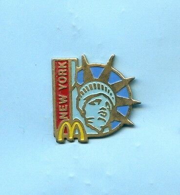 Pins  Mc  Donald's  New York  Usa  Statue Of Liberty  Ph195
