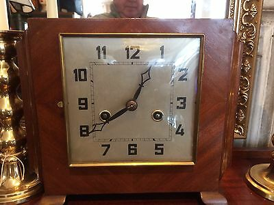 Stunning Rare Art Deco Striking Mantle Clock
