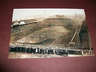 "ASTON VILLA  VILLA PARK  FOOTBALL GROUND  1940s ?  (B)    6""x4""  REPRINT"