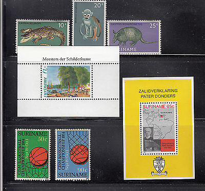 Suriname 1969-1984 Mint never hinged Collection