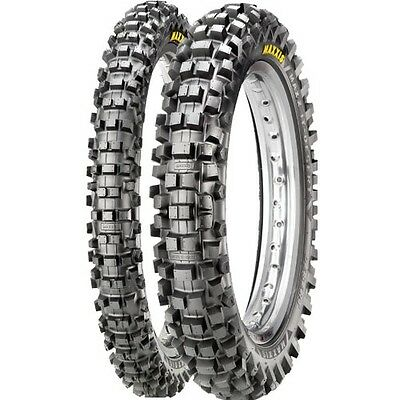 Maxxis MaxxCross IT Tyres PAIR - 110/90-19 + 80/100-21 Road Legal Enduro MX