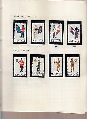 Soldiers/miltary Uniforms Various Sets Umm/mnh 3