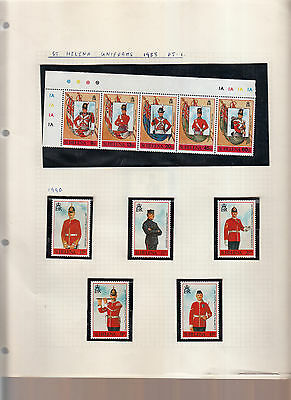 Soldiers/miltary Uniforms Various Sets Umm/mnh 4