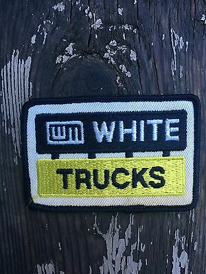 white transportation truck trucking patch