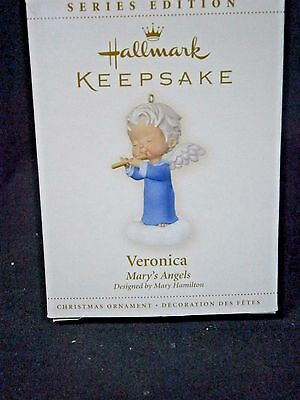 """Hallmark Mary's Angels """"veronica"""" Ornament 19Th In Series"""