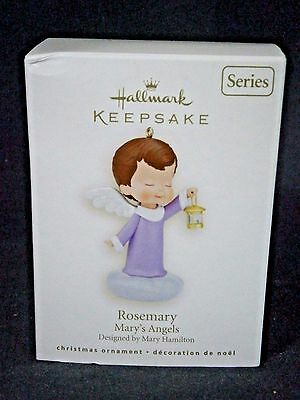 """Hallmark Mary's Angels """"rosemary"""" Ornament 21St In Series"""