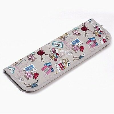 Scattered Sewing Notions Empty Knitting Pin Needle Storage Case