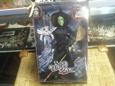 2008 Barbie The Wizard Of Oz Wicked Witch of the West Doll N6561 Min 9.8/10 cond