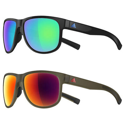 Adidas Sport Sprung Flex Zones Quick-Release UV Protect Sunglasses - Mirrored