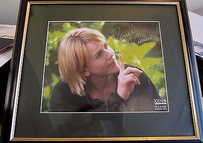 Renee O' Connor - Gabrielle Xena Autographed Photo Framed Creation Genuine