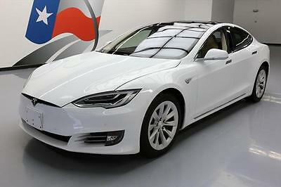 2016 Tesla Model S  2016 TESLA MODEL S 70 AUTOPILOT PANO SUNROOF NAV 11K MI #146046 Texas Direct