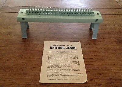 Vintage Knitting Jenny with Instruction Booklet