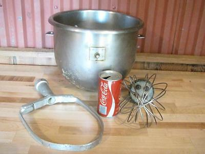 Good Hobart? Commercial Mixer 20 Qt Stainless Bowl A20P Pastry Knife Whisk