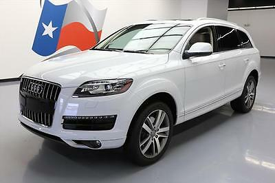 2013 Audi Q7 Premium Plus Sport Utility 4-Door 2013 AUDI Q7 3.0T PREM PLUS AWD S/C PANO ROOF NAV 13K #012150 Texas Direct Auto
