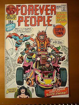 Forever People 1 DC 1971 Nice copy Darkseid
