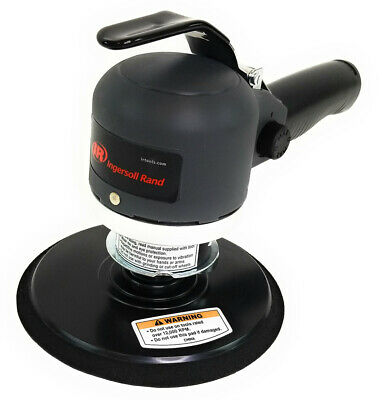 "Ingersoll Rand 311A Air Sander Dual Action Quiet, 6"" Pad, 12000 RPM"