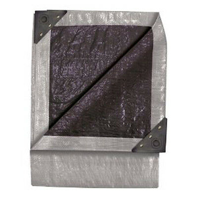 Tekton 6292 6' X 8' Double Duty Tarp Silver/Black