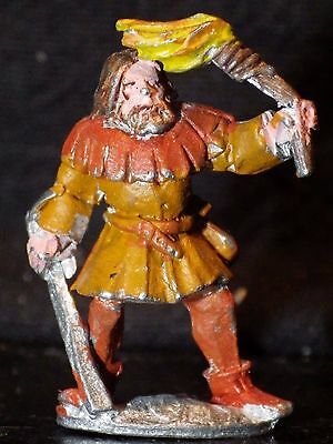 MEDIEVAL KNIGHT FIGHTER Dungeons Dragons Miniature Metal Paladin Ral Partha Lot