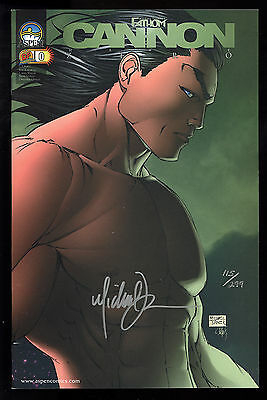 Fathom: Cannon Hawke (2004) #0 Signed by Michael Turner DF Not Sealed 115/299 NM