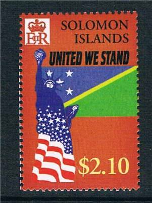 Solomon Is 2002 United We Stand 1v SG1017 MNH
