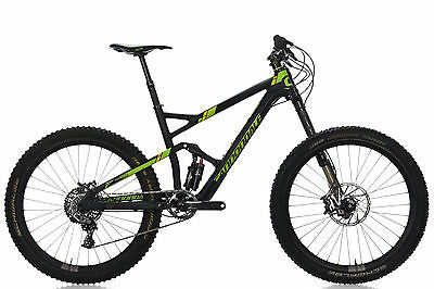 "2015 Cannondale Jekyll Carbon 1 Full Suspension Mountain Bike 18"" Medium SRAM"