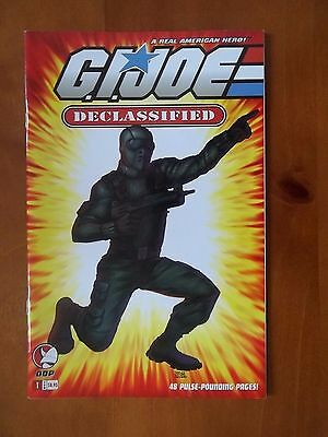 G.I.Joe Declassified #1 Variant B Cover Devil's Due Publishing DDP