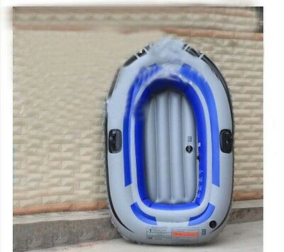 1 Person Water-proof Grey+Blue Length 150CM Width 90CM Inflatable Boat *