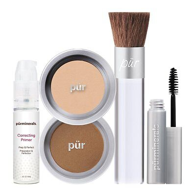 Purminerals Pür Start Now 5 Piece Beauty To Go Collection- Porcelain