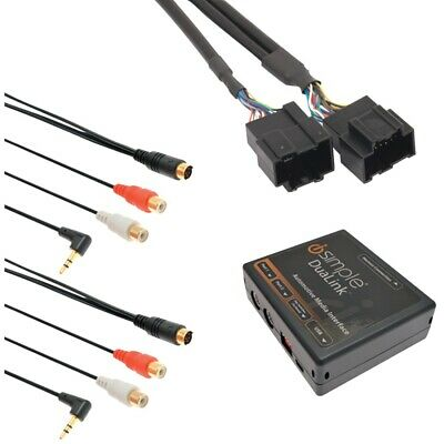 iSimple ISGM531 2008-2009 Hummer H2 Dual Aux Audio Input Factory Radio Adapter