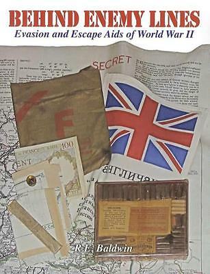 Behind Enemy Lines: Evasion & Escape Aids WWII Reference Maps Blood Chits & More