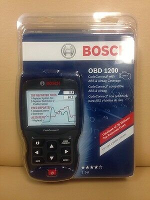 BOSCH Enhanced Auto Scanner OBD ABS AIRBAG SRS Scan Tool fault code OBD 1200