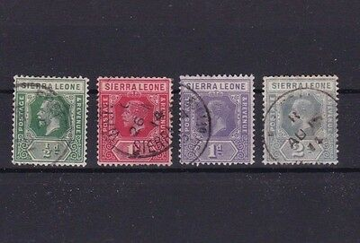 Sierra Leone  Mounted Mint Or Used Stamps On  Stock Card  Ref R954