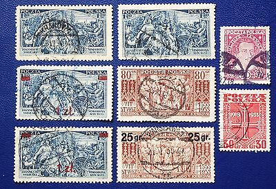 POLAND - 1927-1934 Collection of Better Stamps - Used