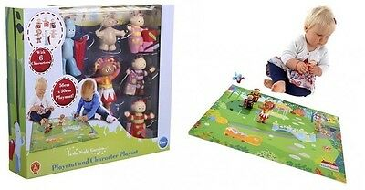 In The Night Garden,Playmat And Characters Playset,NEW,
