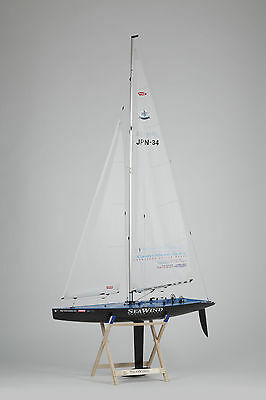 KYOSHO RC NAVE A VELA BARCA SEAWIND CARBONE COMPLETO Readyset #40463rs