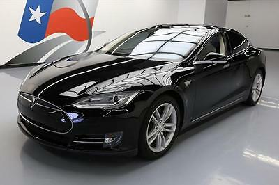 2013 Tesla Model S  2013 TESLA MODEL S TECH PANO SUNROOF NAV REAR CAM 54K #P03991 Texas Direct Auto