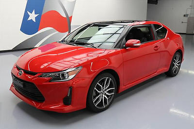 2016 Scion tC Base Coupe 2-Door 2016 SCION TC AUTOMATIC PANO SUNROOF BLUETOOTH 22K MI #015175 Texas Direct Auto